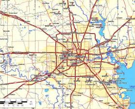 road map of houston map of greater houston area images thefemalecelebrity