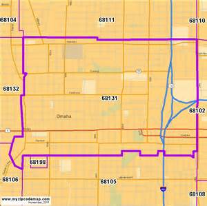 Omaha Zip Code Map by Zip Code Map Of 68131 Demographic Profile Residential