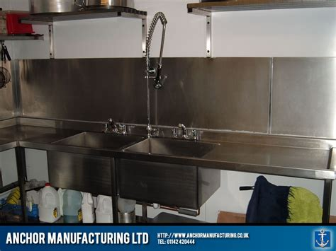 Restaurant Kitchen Sinks Restaurant Kitchen Sink And Pullout Spout Tap Anchor Manufacturing Ltd