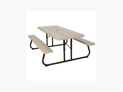 6 foot lifetime folding picnic table brand new saanich victoria