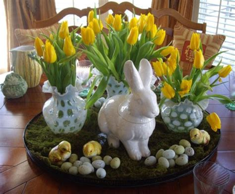 Decorating Ideas Easter 31 Beautiful Easter Table Decoration Ideas Design Swan
