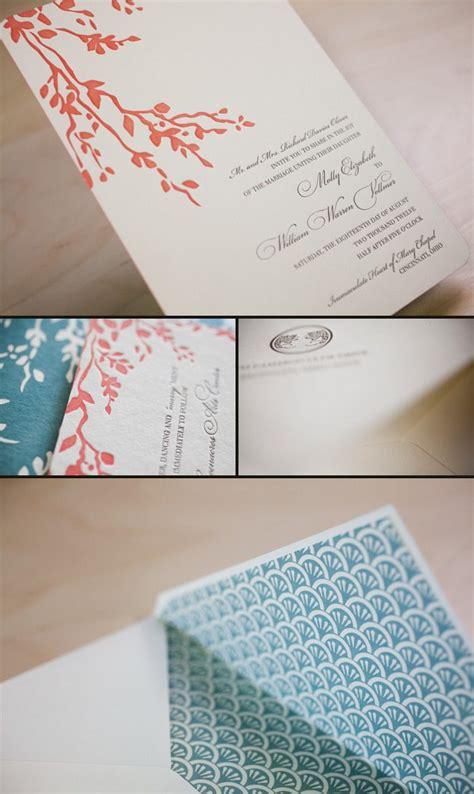 letterpress wedding invitations cincinnati letterpress invitation smock