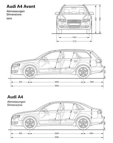 Audi A4 Avant Abmessungen by Dimensions S3 Saloon V A4 B8 Saloon Audi Sport Net