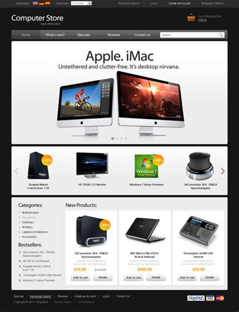 Best Website Templates Computer Website Design Templates