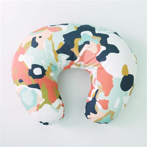 Where Can I Buy A Boppy Pillow by Boppy Cover Coral Jubilee Boppy Nursing Pillow By Iviebaby