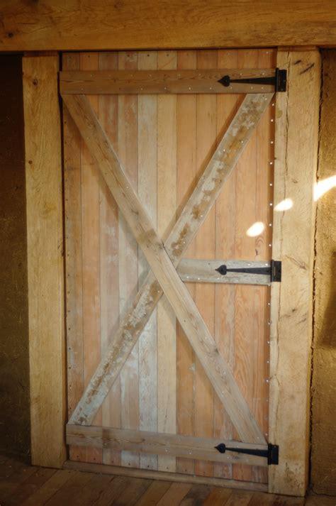 heavy duty homemade door design building  custom diy door