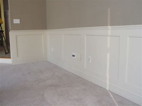 Recessed Panel Wainscoting Kits Recessed Panel Wainscoting Traditional New York By