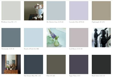 color chart wall color pick   shades