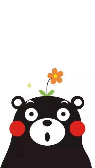 kumamon funny phone wallpaper sticker graffiti cartoon
