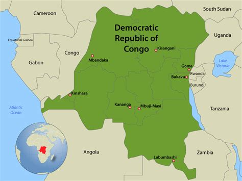 africa map democratic republic of the congo drc assumes management of international bank for africa