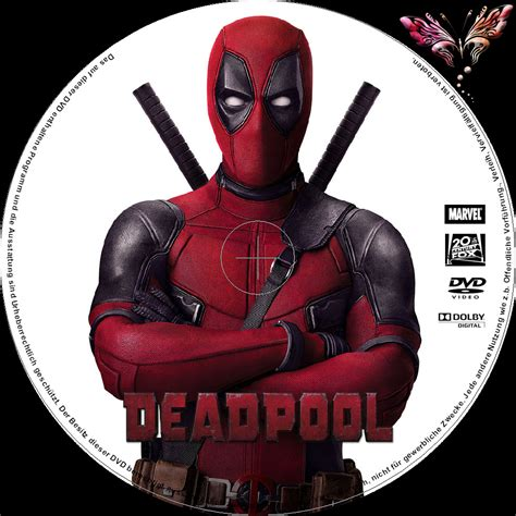 deadpool covers deadpool dvd cover label 2016 r2 german custom