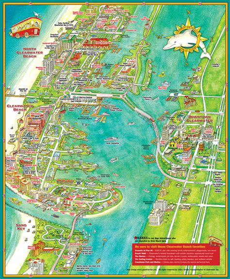map of clearwater florida clearwater map my