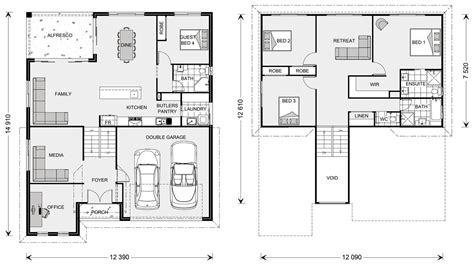 floor plans designs laguna 278 split level home designs in new south wales