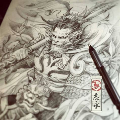 japanese tattoo documentary resultado de imagen de wukong tattoo art japanese