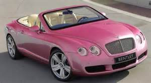 Tammy With A Purple Bentley Pink Convertable Bentley Cars I Like