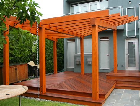 wood for pergola pergola design ideas best wood for pergola construction design cherry lacquered finish timber