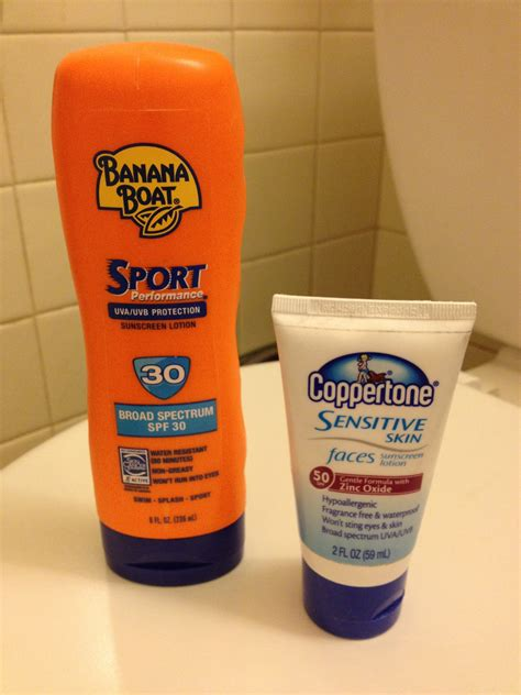 banana boat physical sunscreen a silver medal and sunscreen tinlizzieridesagain