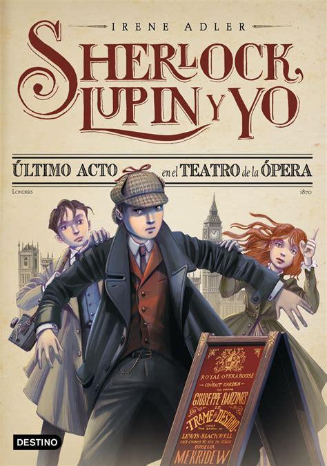 libros lectureka sherlock lupin y yo