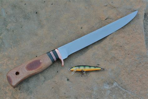 Handcrafted Knife - custom handmade filet fishing knife