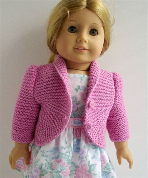 doll cardigan knitting pattern best 25 dolls knitting patterns ideas on
