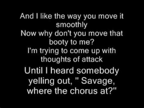 swing savage lyrics savage swing lyrics youtube