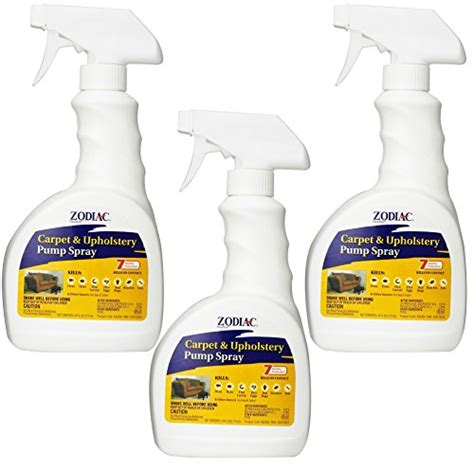 Flea Spray For Upholstery by 3 Pack Zodiac Flea Carpet And Upholstery