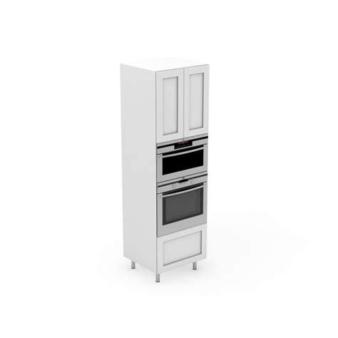 flat pack kitchen cabinets matt white shaker kitchen base oven microwave tower with pot drawer shaker