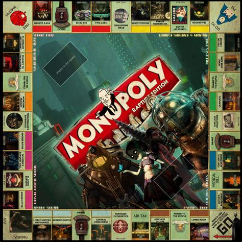 themes of monopoly board games monopoly gadgetsin