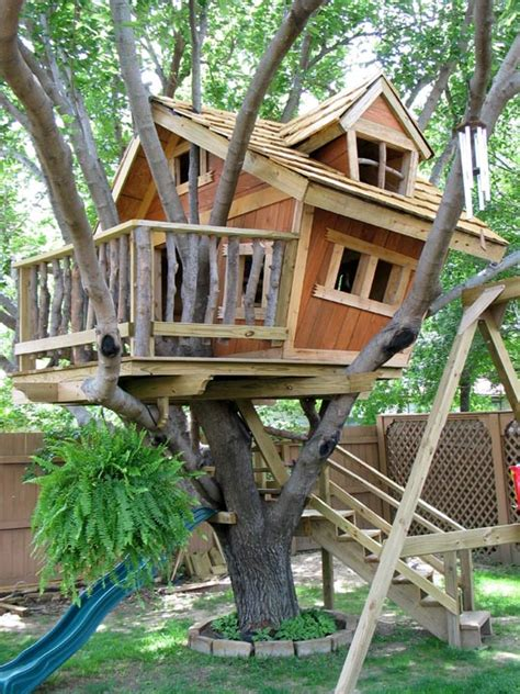 download kid treehouse plans free
