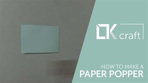 How Do You Make A Paper Popper - origami toys 16 how to make a paper popper i easy