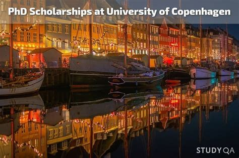 Phd Mba Denmark by Phd Scholarships At Of Copenhagen Denmark