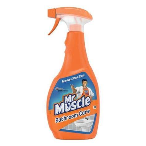 buy mr muscle bathroom cleaner spray bottle 5 in 1 500ml