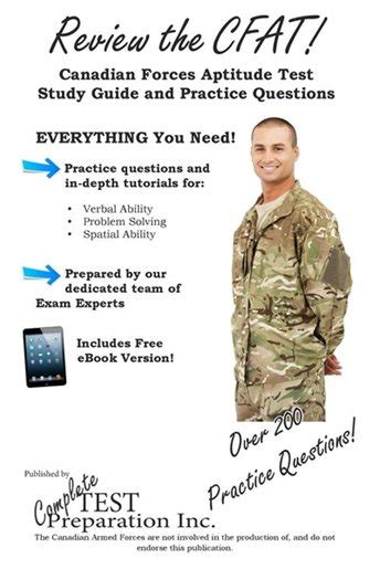 Review The Cfat Complete Canadian Forces Aptitude Test