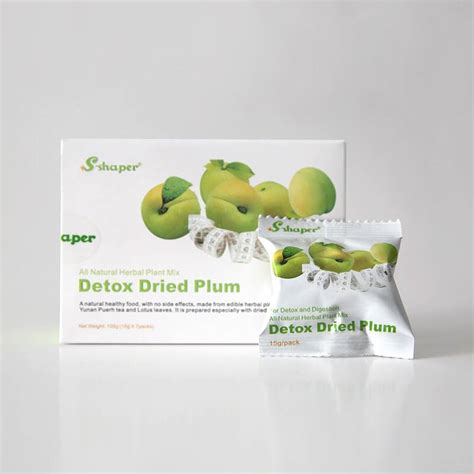 Detox Rubber by Detox Dried Plum Weidoo Trading Uk Co Ltd