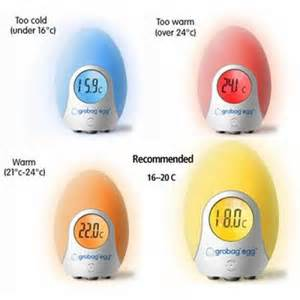 what room temperature is best for babies gro egg room thermometer and shell an family review mummy matters