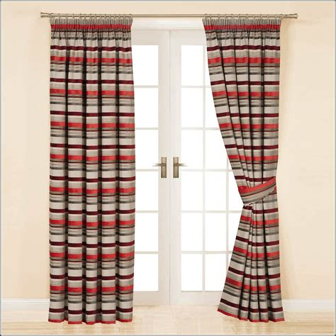 beige striped curtains curtain ideas red and beige striped curtains curtains home design