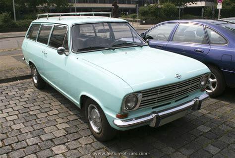 opel kadett wagon opel 1965 kadett b 2door caravan the history of cars