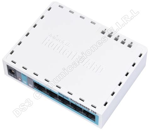 Router Mikrotik Rb750 routerboard mikrotik rb750