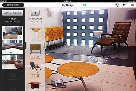 design my living room app design app lets add furniture to their living room psfk