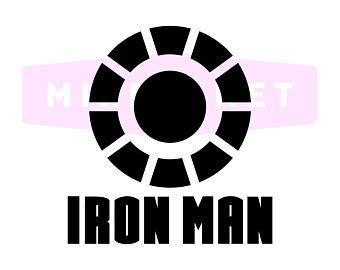 Logo Power Iron iron silhouette etsy