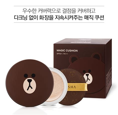 Harga Missha M Line Friends Magic Cushion Special Edition stearic acid malaysia stearic acid malaysia products
