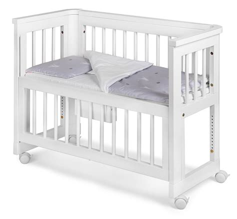Troll Nursery Furniture Sun Bedside Crib Bed Side Crib