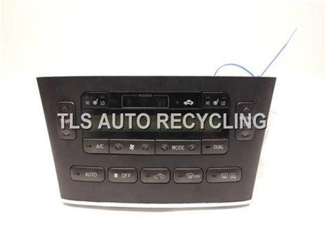 transmission control 2004 lexus es windshield wipe control 2004 lexus es 330 temp control unit 55902 33580 used a grade