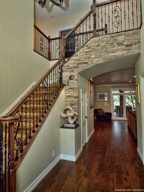 traditional staircases traditional entry staircases austin impressions