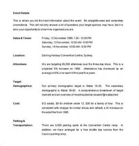 Letter For Event Exle Template 187 Event Templates Free Resume Cover And Resume Letter Sles