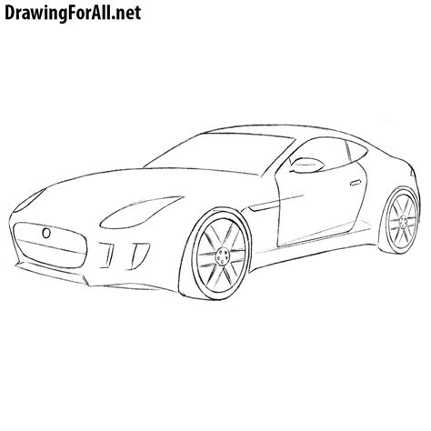 How To Draw A Drawingforall by How To Draw A Jaguar Car Drawingforall Net
