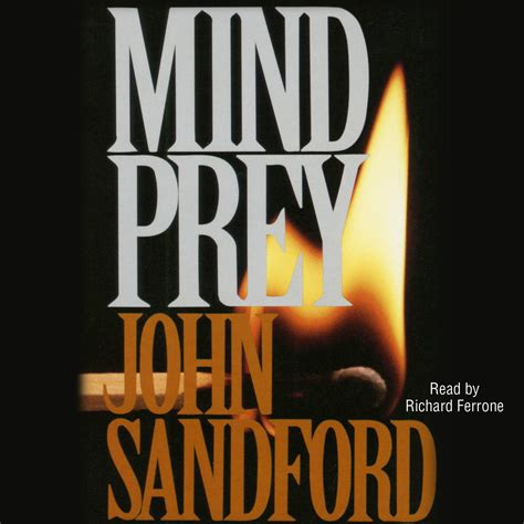 mind prey audiobook by sandford richard ferrone