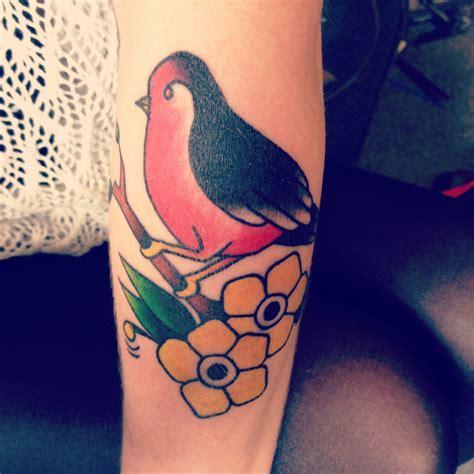 tattoo online gallery traditional bird by clayton drew tattoonow