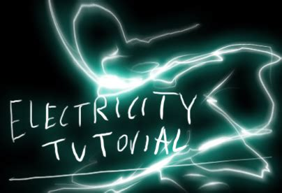 doodle how to make electricity anime electricity tutorial by keh ven on deviantart
