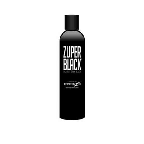 tattoo ink zuper black intenze tattoo ink zuper black 12oz blackest of blacks